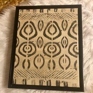 June Erica Vess Pattern Bazaar IV Canvas in Frame